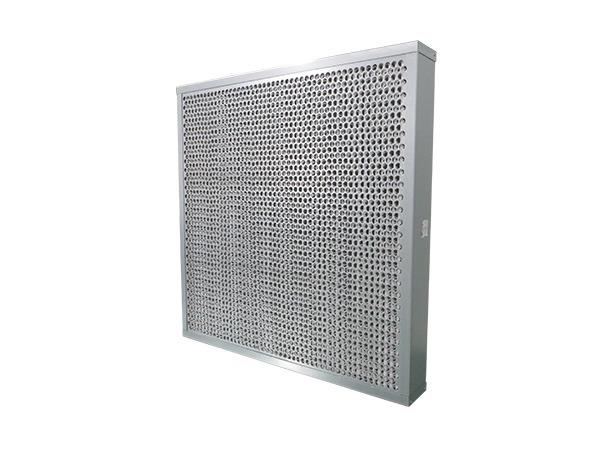 有隔板盒式过滤器