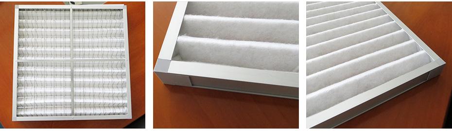 金属外框板式常温过滤器
